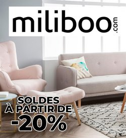 Promos de Miliboo dans le prospectus à Miliboo ( 4 jours de plus)