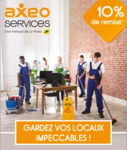 Promos de Axeo Services dans le prospectus à Paris