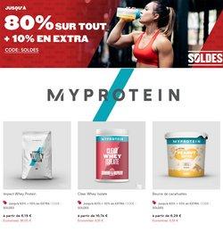 Promos de Myprotein dans le prospectus à Myprotein ( 8 jours de plus)