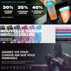 Myprotein coupon ( 8 jours de plus)