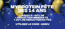 Promos de Myprotein dans le prospectus à Paris
