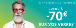 Promos de Opticiens et Soins dans le prospectus de Lynx Optique à Grenoble