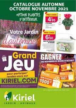 Promos de Jardineries et Animaleries dans le prospectus à Kiriel ( 6 jours de plus)