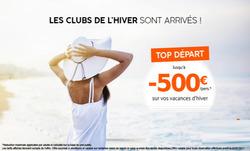 Coupon Promo Séjours ( Plus d'un mois )