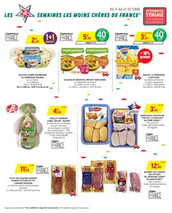 Promos de Weight watchers dans le prospectus de Intermarché à Paris