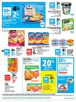 Promos de Weight watchers dans le prospectus de Auchan à Paris
