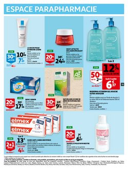 Bioderma à Auchan
