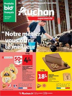Promos de Hyper-Supermarchés dans le prospectus de Auchan à Nice ( Expire demain )