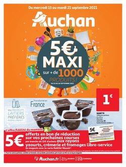 Promos de Auchan dans le prospectus à Auchan ( Nouveau)