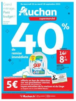 Promos de Hyper-Supermarchés dans le prospectus à Auchan ( Expire demain)