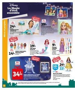 Promos de Disney dans le prospectus à Auchan ( Plus d'un mois)