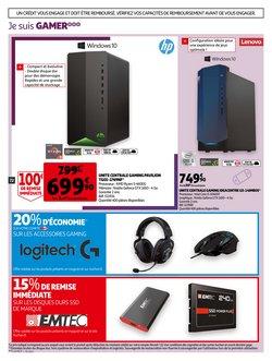 Promos de Lenovo dans le prospectus à Auchan ( 2 jours de plus)