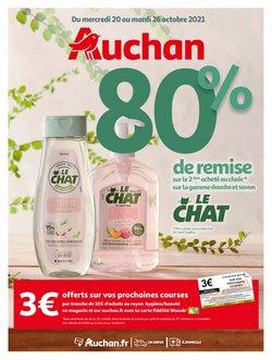 Promos de Parfumeries et Beauté dans le prospectus à Auchan ( 2 jours de plus)