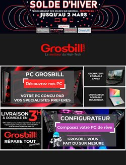 Grosbill coupon ( Expire demain )