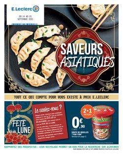 Promos de Hyper-Supermarchés dans le prospectus à E.Leclerc ( Expire ce jour)