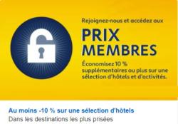 Promos de Expedia dans le prospectus à Paris
