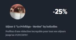 Promos de Hôtels Balladins dans le prospectus à Reims