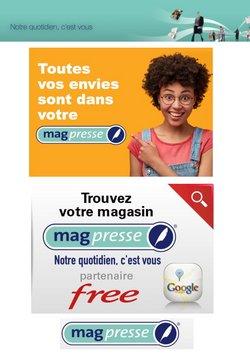 Promos de Librairies dans le prospectus de Mag Presse à Toulouse ( Il y a 3 jours )