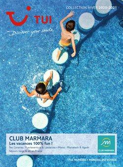 Promos de Voyages dans le prospectus de Marmara à Paris ( Plus d'un mois )