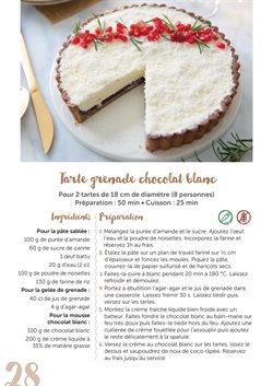 Chocolat blanc à L'Eau Vive