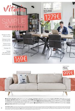 Promos de Table dans le prospectus de H&H à Paris
