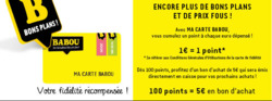 Promos de Babou dans le prospectus à Levallois-Perret