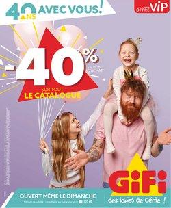 Gifi coupon ( Publié hier)