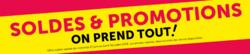 Promos de Gifi dans le prospectus à Groslay