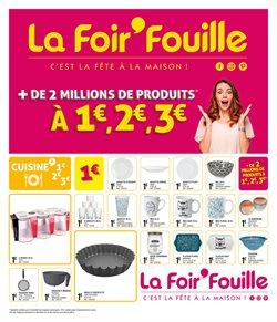 Promos de Bazar et Déstockage dans le prospectus de La Foir'Fouille à Brest ( Nouveau )