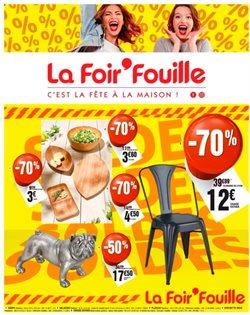 Promos de Bazar et Déstockage dans le prospectus de La Foir'Fouille à Châlons-en-Champagne ( Nouveau )