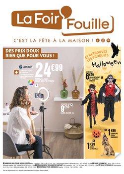 Promos de La Foir'Fouille dans le prospectus à La Foir'Fouille ( Publié hier)