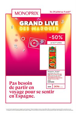 Monoprix coupon à Montrouge ( 4 jours de plus )