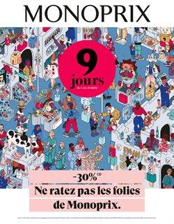 Monoprix coupon à Paris ( Il y a 3 jours )