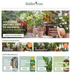 Promos de Jardineries et Animaleries dans le prospectus à Bakker ( Expire demain)