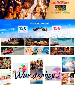 Wonderbox coupon ( Plus d'un mois )