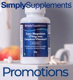Promos de Simply Supplements dans le prospectus à Simply Supplements ( 8 jours de plus)