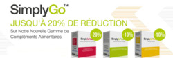 Promos de Simply Supplements dans le prospectus à Lyon