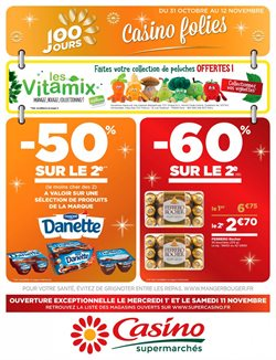 Casino supermarche paris horaires