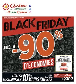 Offres Casino Supermarchés Black Friday
