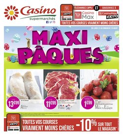 Casino Supermarchés coupon ( Expire demain )