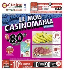 Pampers à Casino Supermarchés