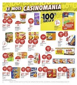 Nestlé à Casino Supermarchés