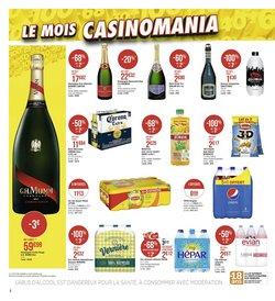 Evian à Casino Supermarchés