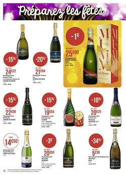 Champagne à Casino Supermarchés