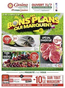 Promos de Casino Supermarchés dans le prospectus à Casino Supermarchés ( Expiré)
