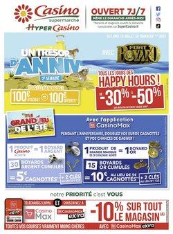 Promos de Casino Supermarchés dans le prospectus à Casino Supermarchés ( 4 jours de plus)