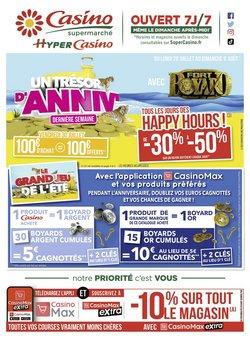 Promos de Casino Supermarchés dans le prospectus à Casino Supermarchés ( 11 jours de plus)