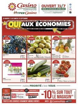 Casino Supermarchés coupon ( Expire ce jour)