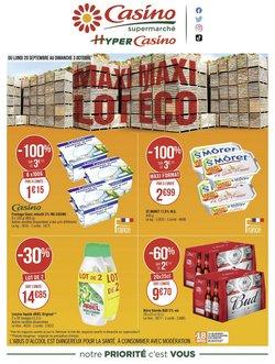 Promos de Casino Supermarchés dans le prospectus à Casino Supermarchés ( 10 jours de plus)