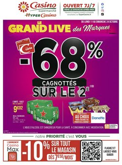 Casino Supermarchés coupon ( 8 jours de plus)